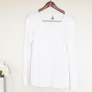 🌵Old Navy Women's Lightweight White Sweater